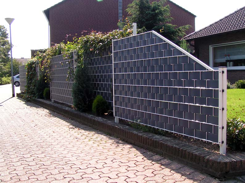 Doppelstabmatten Zaun Bildergalerie Rotec Berlin