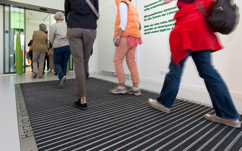 Fußboden Matten Eingangsbereich ~ Eingangsmattensysteme professionelle fußabstreifer rotec berlin
